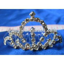 Crstal tiara comb (GWST12-122)
