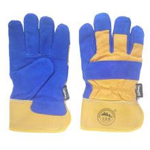 Guantes de trabajo Full Palm Leather con forro completo Thinsulate