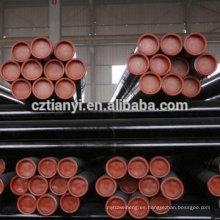 API 5L Gr.B Tubo de acero de soldadura SCH 40 Tubo de acero de Hebei