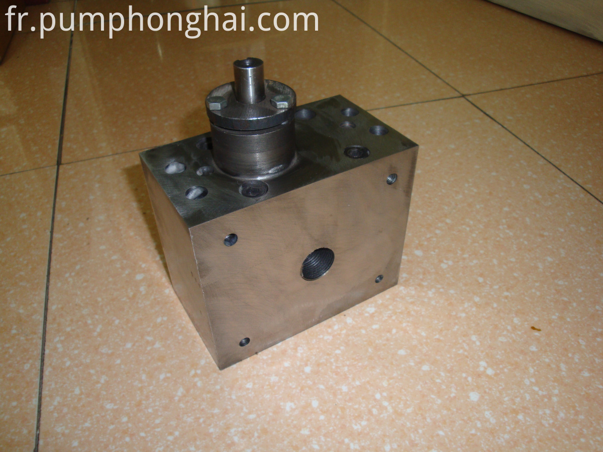 hot melt gear pump