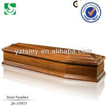 Красное дерево твердый продукт древесины золы гроб
