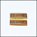 Ropa accesorios placa de Metal con insignia modificada para requisitos particulares botón