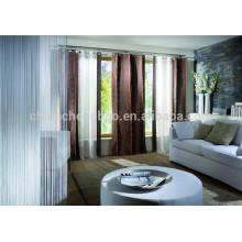 La nueva manera plisó la cortina turca de la secuencia de la barra de la cortina del doble de la cortina