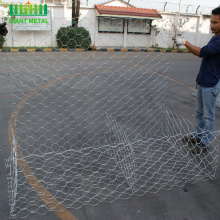 Quality+guarantee+hot+dip+galvanized+gabion+mesh