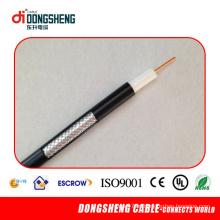 Lin um Manfacturer do cabo para o cabo coaxial RG6 Tri-Shield com UL RoHS