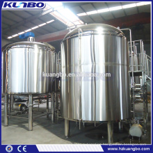 Different volume sanitary grade ss304 brewhouse for restaurant