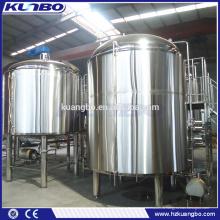Разного объема санитарно-техническим сорт пивоваренный завод ss304 для ресторан