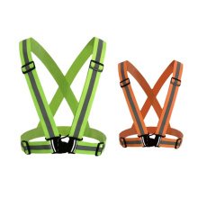 Reflective Vest Safety Clothing Outdoor Yellow Green Orange Oem Logo Color Printing Tape Feture Material