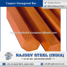Highly Efficient Copper Hexagonal Bar Available in Various Sizes