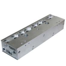 Bloco de usinagem CNC de alumínio