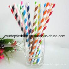 Paper Drinking Straws, Stripe Paper Straws, Straws for Drinking Straws