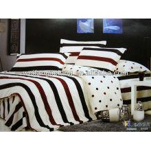 Хлопок реактивной геометрические печать постельные принадлежности Пододеяльник набор