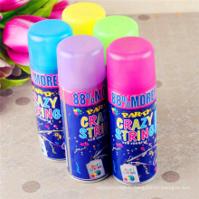 Couleur Silly String Spray / Party Crazy String