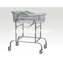 (A-151) Baby Carriage with Transparent Glasses Crib