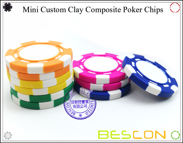 Bescon New Style Clay Chip with Custom Sticker-14