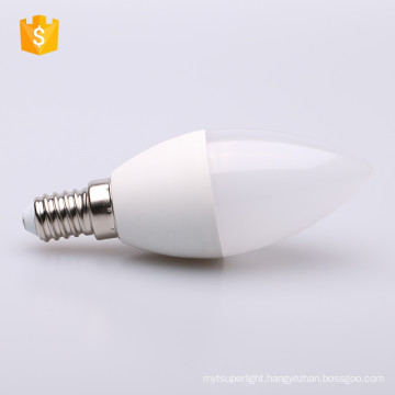 SMD 3W 4W Clear E14 Chandelier Lamp Dimmable 120 Volt LED Candle Light Bulb