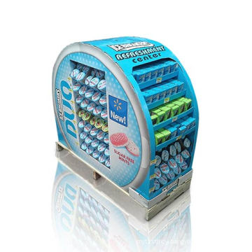 Cardboard Point of Sale Pallet Display for Chewing Gum