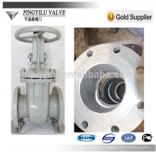 Russia standard oil,water,gas cast steel pn16 flanged gate valve factory