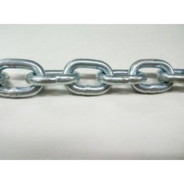 Cadena de enlace soldada con autógena galvanizada estándar del metal