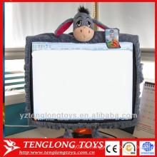 Decoración encantadora caricatura de peluche pantalla de la computadora cubre para las niñas