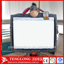 Lovely decoration cartoon plush computer screen covers for girls