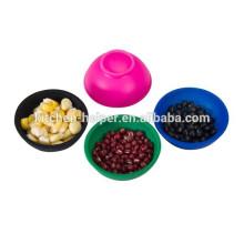 Горячие продажи силиконовые чаши набор мини силиконовые чаши