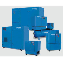 Electric 13bar 90kw Direct Driven Screw Air Compressor With Big Rotor, Double Screw