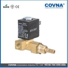 Válvula solenóide de água / óleo / vapor / ar de ação direta para máquinas de café