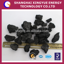 Gießereikoks / kalzinierter Petroleumkoks mit hohem Kohlenstoffgehalt für Stahlguss