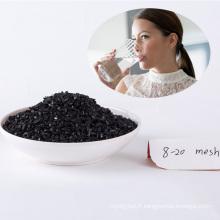 Eau potable nettoyage charbon actif