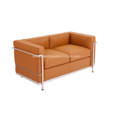 Le Corbusier LC2 Loveseat 2 plazas