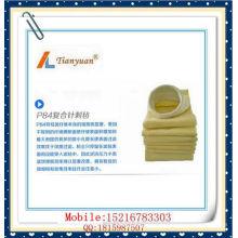 Термостойкий нетканый карманный фильтровальный мешок для пыли P84 с иглами