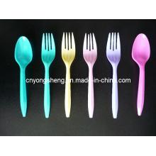 Moule de cuillère de couteau de fourchette d'injection en plastique
