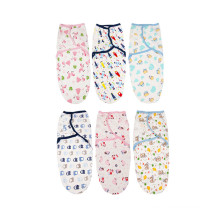 100%cotton baby swaddle adjustable blanket infant swaddle wrap