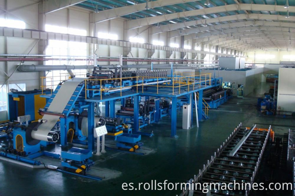 eps rock wool sandwich panel production line