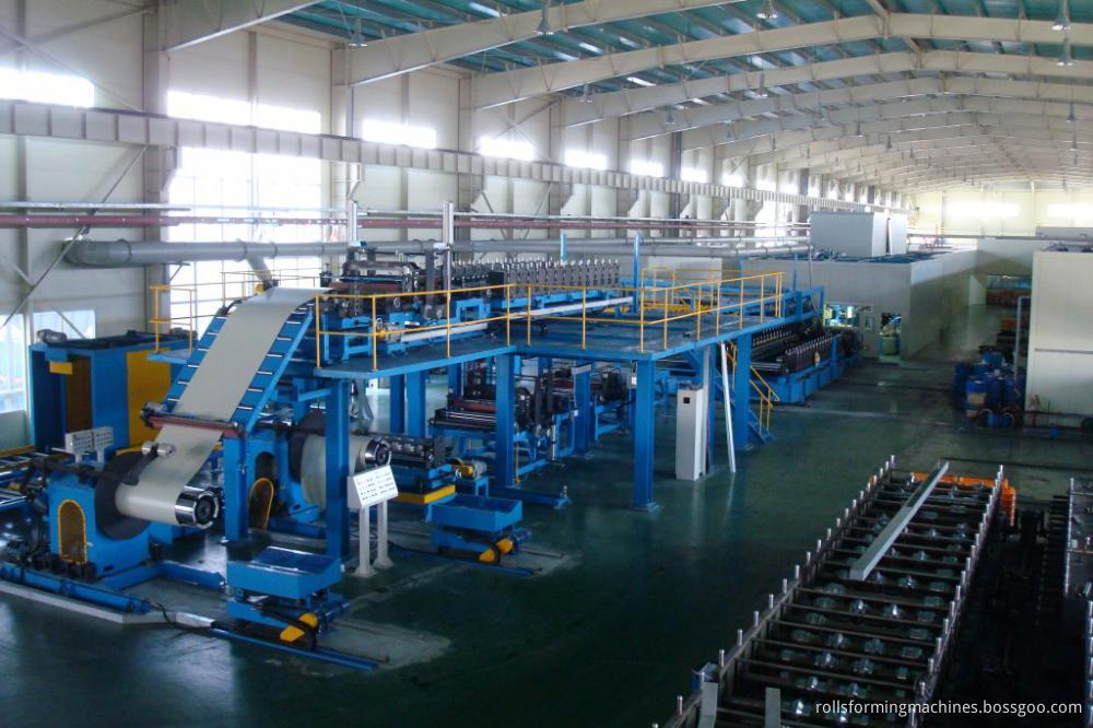 eps rock wool sandwich panel production line