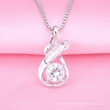 Cadeau de Saint-Valentin Nouveau Cristal évider Pendentif Charme Multi Couleur Dangle Perles Fit Charm Bracelet DIY Bijoux