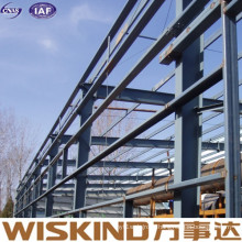 China Supplier Prefab Light Span Steel Parking Structure for Construction