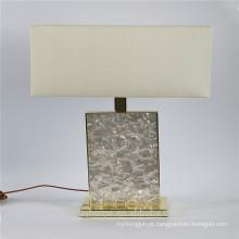 Canosa ECO-friendly branco madrepérola lâmpadas de mesa
