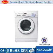 A carga dianteira automática do cilindro de aço inoxidável compacto do branco da cor 6kg China fez a máquina de lavar