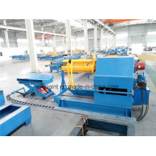 10 Tons Hyraulic Uncoiler with Coil Car Pneumatic Press Arm