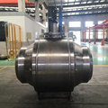 API 6D Welded Body Trunnion Mounted Ball Valve