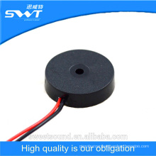 diameter 17mm buzzer with wires 5 volts piezo buzzer factory