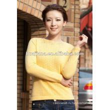 Дизайн мода женская 100% кашемировый свитер