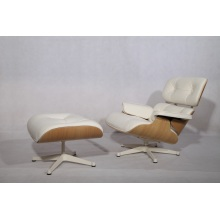 Chaise longue et pouf Herman Miller Eames