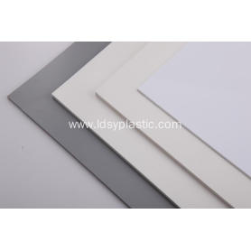White PVC Cladding Sheet