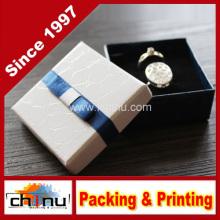 Caixa de jóias de luxo impresso personalizado (140002)