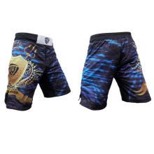 Pantalones cortos de encargo de MMA para hombre, artes marciales usa, pantalones cortos sublimados de MMA para entrenar