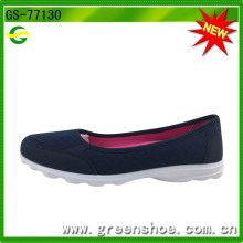 Good Selling Greenshoe Fashion Lady Zapatos planos ocasionales