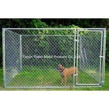Chaîne Cisne Chien Chenil Extérieur Clôture Cour arrière Grande cage pour animaux Pen Run Galvanized